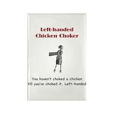 Left-handed Chicken Rectangle Magnet