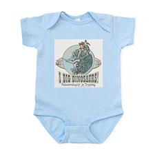 I Dig Dinosaurs Boy Infant Creeper