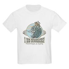 I Dig Dinosaurs Girl Kids T-Shirt