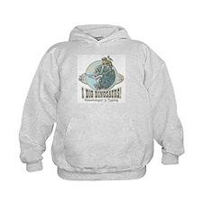 I Dig Dinosaurs Girl Hoodie