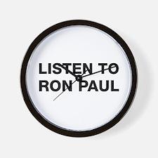 Listen to Ron Paul Wall Clock