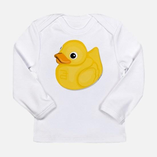 rubberduck-logo Long Sleeve T-Shirt