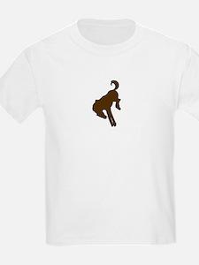 bronco logo 3D T-Shirt