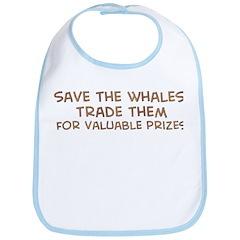 Save the whales 1 Bib