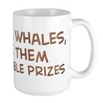 Save the whales 1 Large Mug