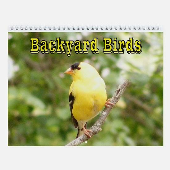 Backyard Birds Wall Calendar