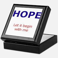 PeaceAndHope Keepsake Box