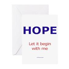 PeaceAndHope Greeting Cards (Pk of 20)