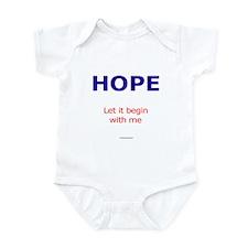 PeaceAndHope Infant Bodysuit