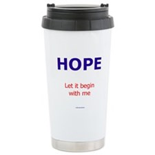 PeaceAndHope Travel Mug