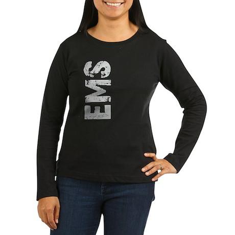 Grunge EMS Women's Long Sleeve Dark T-Shirt