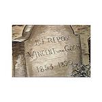 Vincent Rectangle Magnet