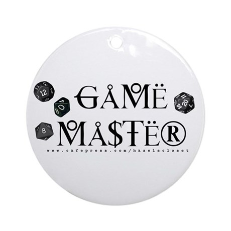 Game Master Ornament (Round)