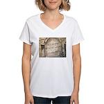 Vincent Women's V-Neck T-Shirt