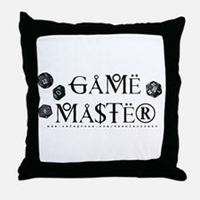Game Master Throw Pillow