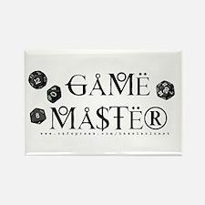 Game Master Rectangle Magnet