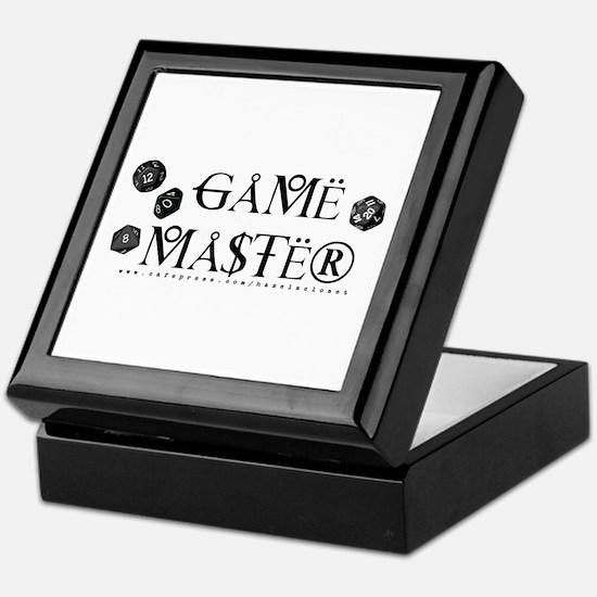 Game Master Keepsake Box