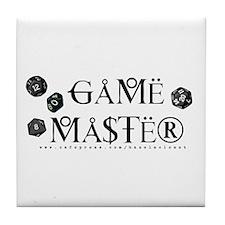 Game Master Tile Coaster