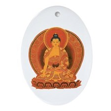 Buddha Oval Ornament