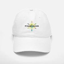My Race Is Human Baseball Baseball Cap