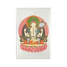Chenrezig/Avalokiteshvara Rectangle Magnet (10 pac