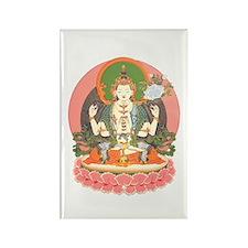 Chenrezig/Avalokiteshvara Rectangle Magnet (100 pa