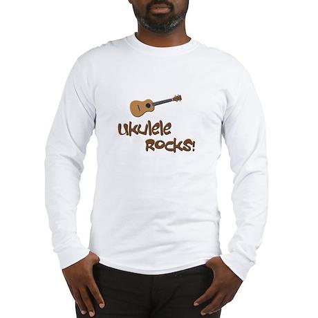funny ukulele uke Long Sleeve T-Shirt
