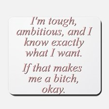 Madonna Quote Mousepad