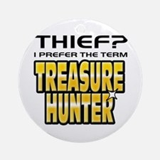 I Prefer Treasure Hunter Ornament (Round)