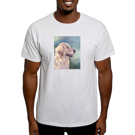Lovely Golden Retrievers Ash Grey T-Shirt