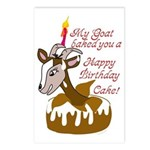 GoatCake Postcards (Package of 8)