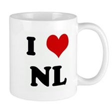 I Love NL Small Small Mug