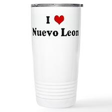 I Love Nuevo Leon Travel Mug