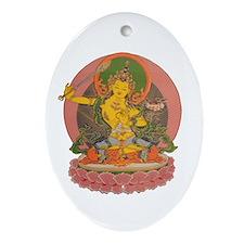 Manjushri Oval Ornament