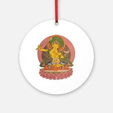 Manjushri Ornament (Round)