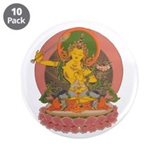 "Manjushri 3.5"" Button (10 pack)"