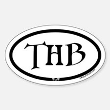 Thunderbluff Wow Oval Decal