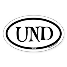 Undercity Wow Oval Decal