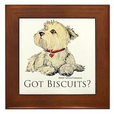 Got Biscuits? Framed Tile