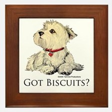 Got Biscuits? Framed Tile
