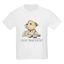 Got Biscuits? Kids T-Shirt