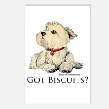 Got Biscuits? Postcards (Package of 8)
