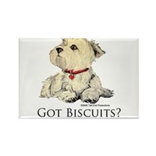 Got Biscuits? Rectangle Magnet