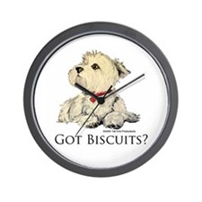 Got Biscuits? Wall Clock