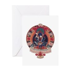Vajradhara Greeting Card