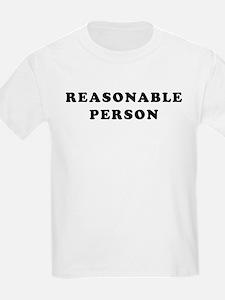 """Reasonable Person"" T-Shirt"