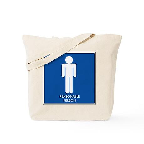 """Reasonable Person"" Tote Bag"