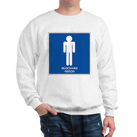 """""""Reasonable Person"""" Sweatshirt"""