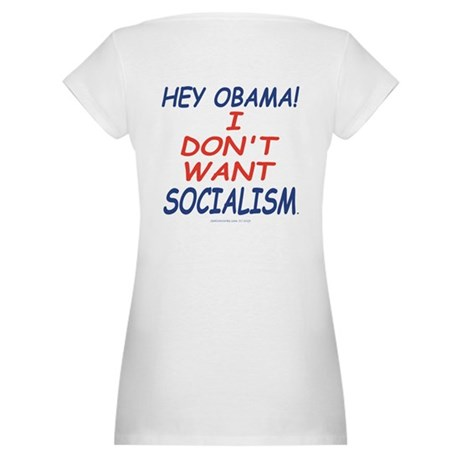 No Socialism Maternity T-Shirt