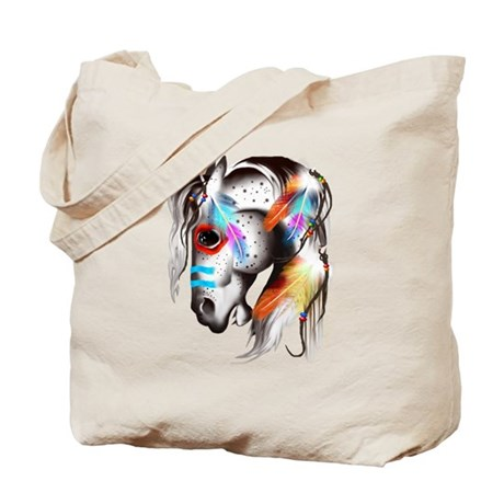 Painted Pony Tote Bag